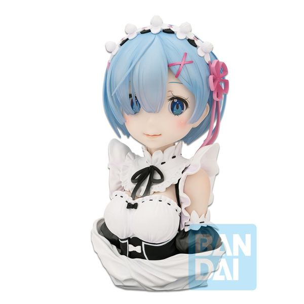Rem Re:Zero Bust ArtScale Story Is To Be Continued Ichibansho