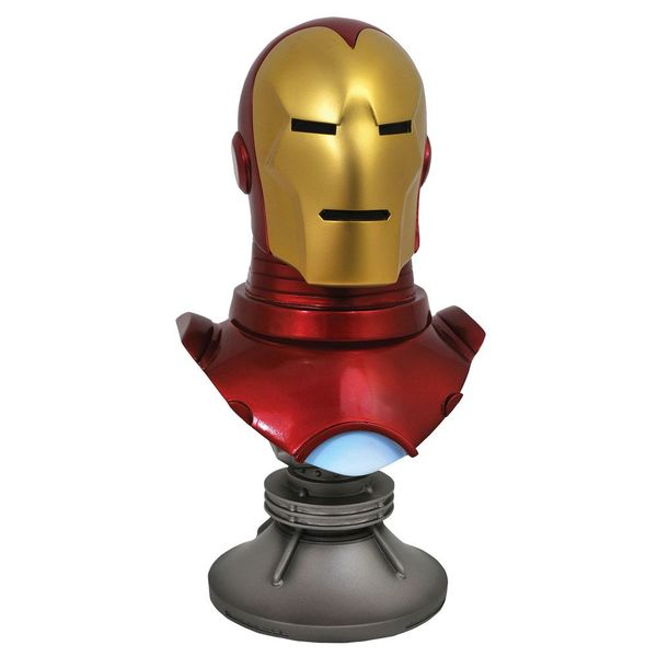 Busto Iron Man Marvel Comics Legends in 3D