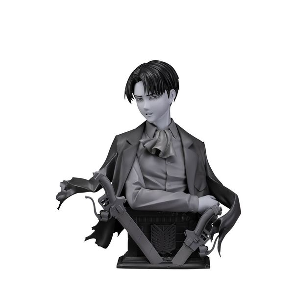 Levi Up Gray Bust Attack on Titan