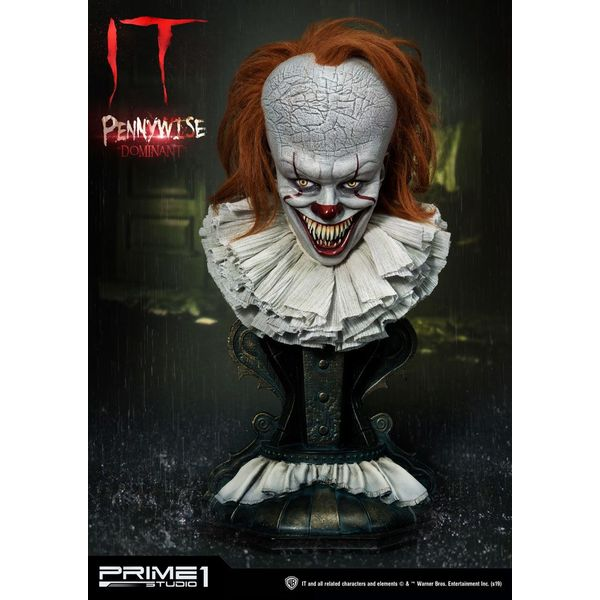 Pennywise Dominant Bust Stephen King's It 2017