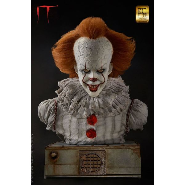 Busto Pennywise Stephen King's It Real Size