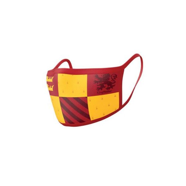 Mascarilla Gryffindor Harry Potter Pack de 2 máscaras de tela