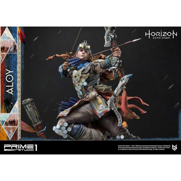Estatua Aloy Shield Weaver Armor Set Horizon Zero Dawn