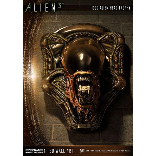 Estatua Dog Alien Open Mouth Alien 3 3D Decoration Wall