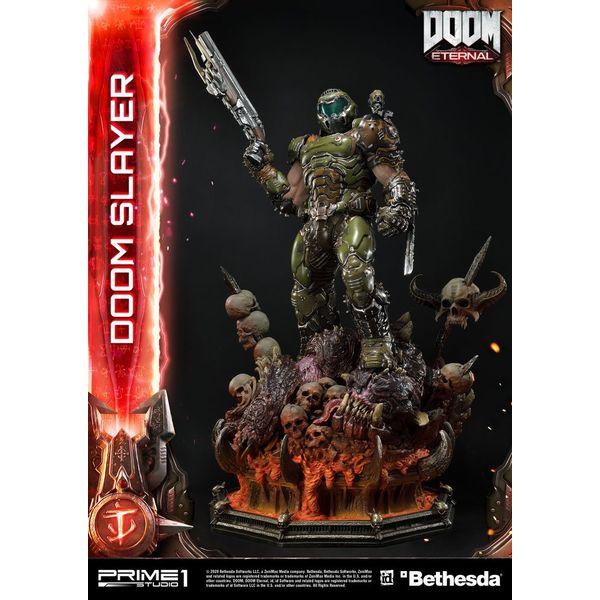 Estatua Doom Slayer Doom Eternal