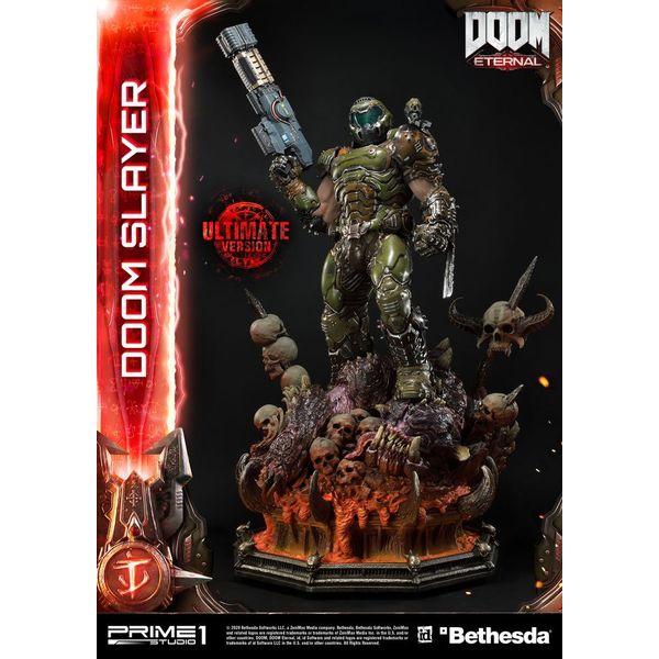 Estatua Doom Slayer Ultimate Version Doom Eternal