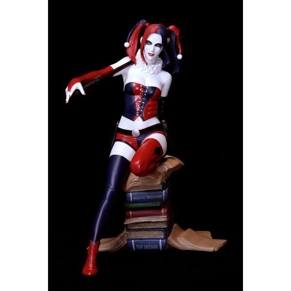 Harley Quinn by Luis Royo Web Exclusive Statue DC Comics Fantasy Figure Gallery