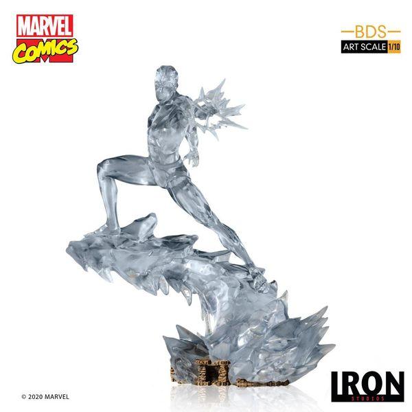 Iceman Statue Marvel Comics BDS Art Scale