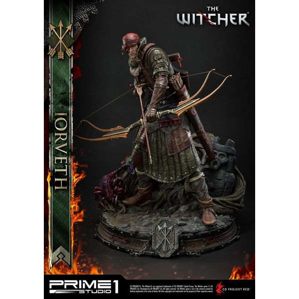 Iorveth Statue The Witcher 2 Assassins of Kings