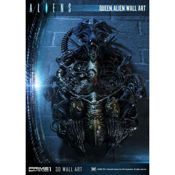 Estatua Queen Alien Aliens 3D Decoration Wall