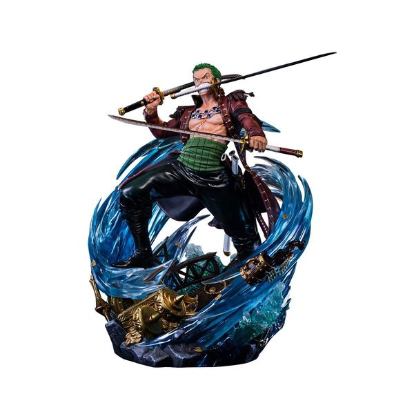 Roronoa Zoro Statue One Piece Log Collection