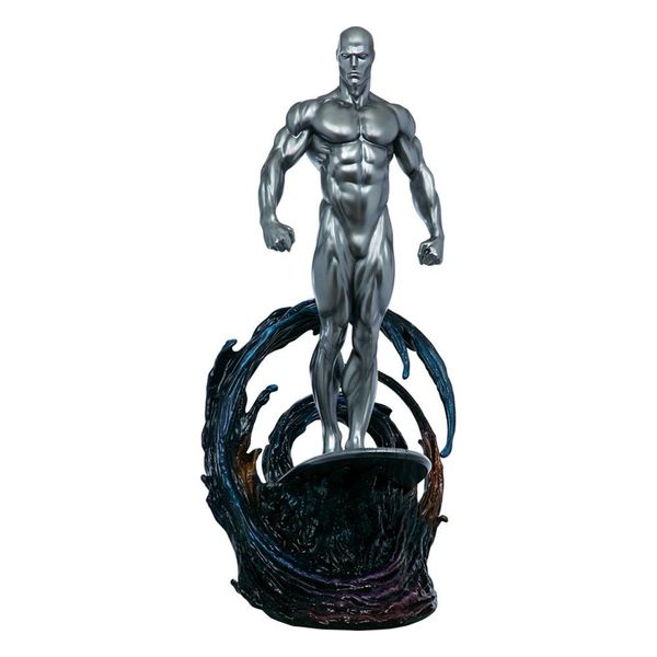 Estatua Silver Surfer Marvel Comics Maquette
