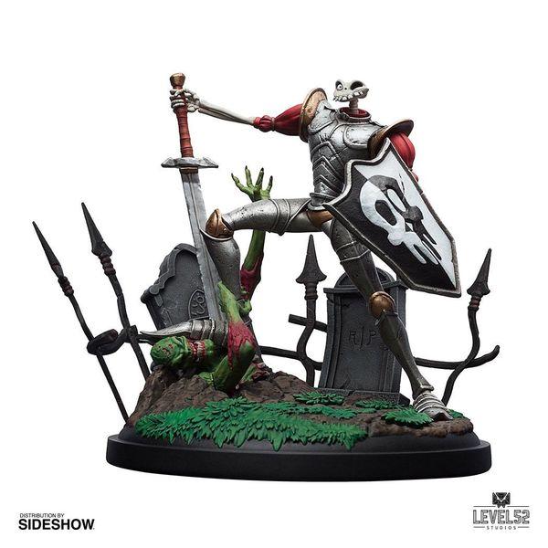 Estatua Sir Dan Fortesque MediEvil