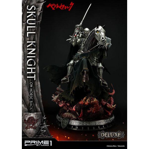 Estatua Skull Knight on Horseback Deluxe Version Berserk