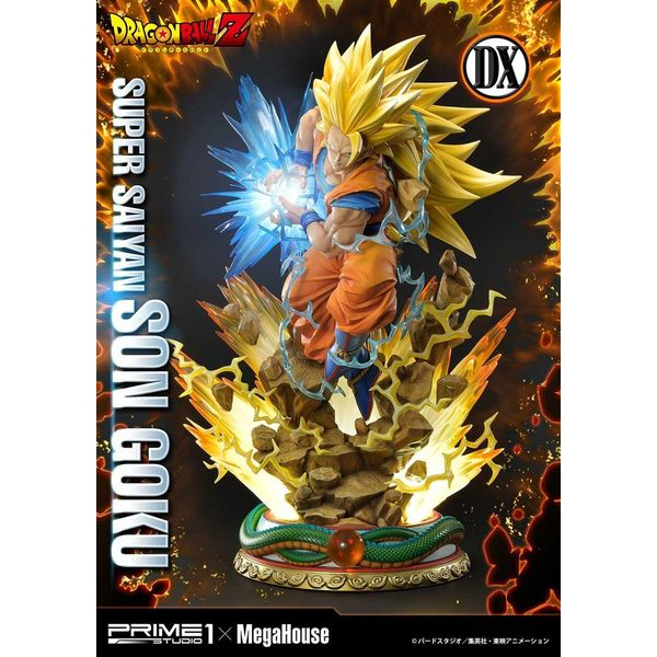 Estatua Son Goku SSJ DX Version Dragon Ball Z Mega Premium Masterline