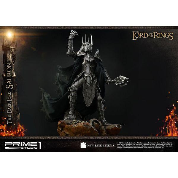 Estatua The Dark Lord Sauron Exclusive Version El Señor de los Anillos