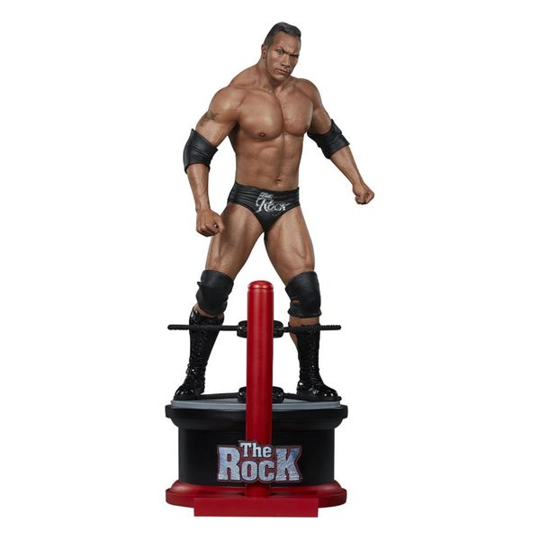 Estatua The Rock WWE