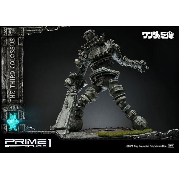 The Third Colossus Statue Shadow of the Colossus