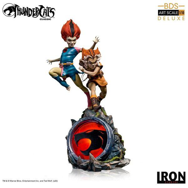 Estatua Wilikit & Wilikat Deluxe Thundercats BDS Art Scale