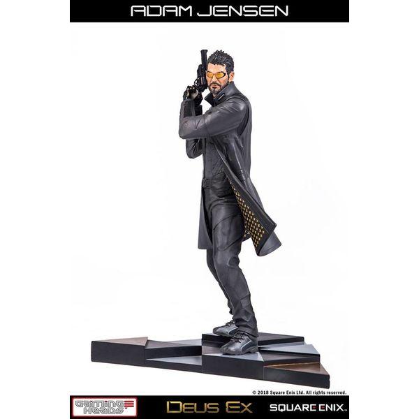 Estatua Adam Jensen Deus Ex Mankind Divided