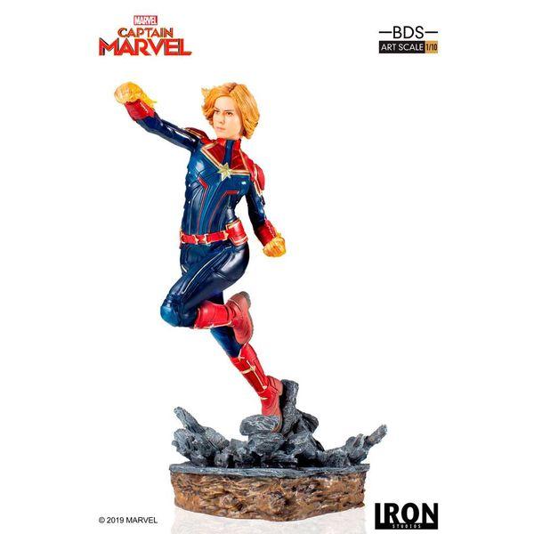 Estatua Captain Marvel Marvel Comics BDS Art Scale