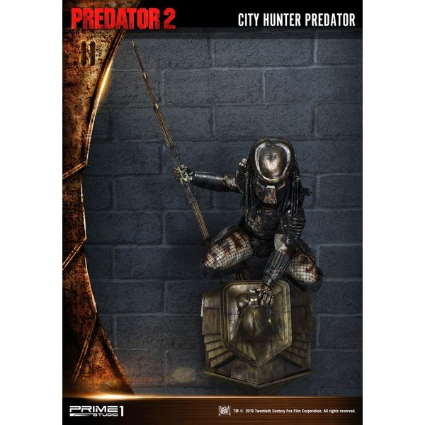 Estatua City Hunter Predator Wall Decoration 3D Predator 2