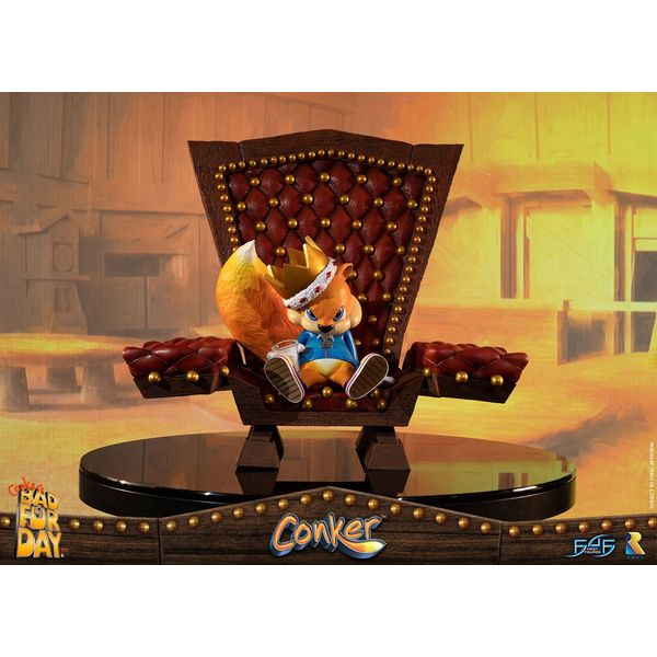 Conker Statue Conker's Bad Fur Day