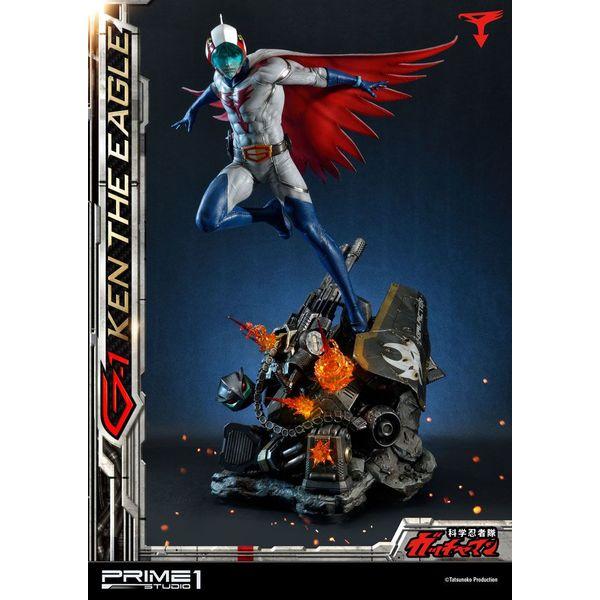 Estatua G-1 Ken the Eagle Science Ninja Team Gatchaman