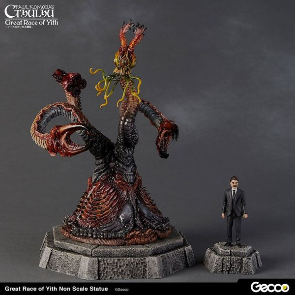 Estatua Great Race of Yith H.P. Lovecraft Cthulhu Mythos
