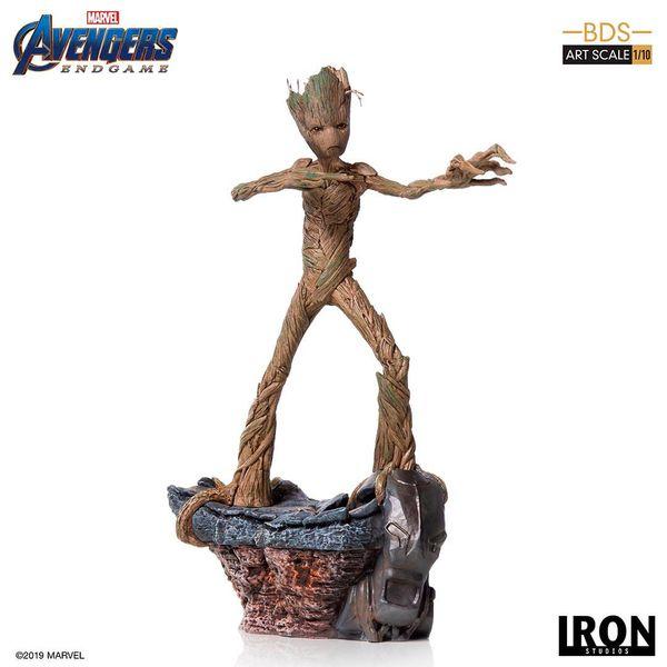 Groot Statue Vengadores Endgame BDS Art Scale