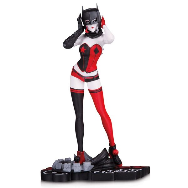 Harley Quinn by John Timms Statue DC Comics Red White & Black