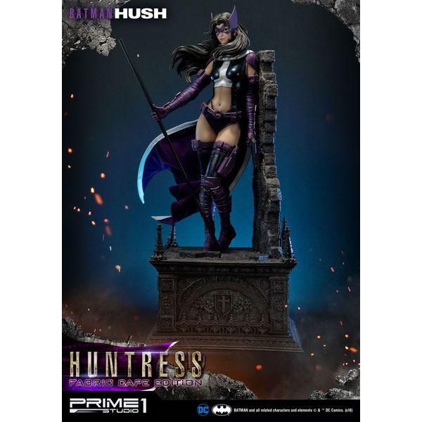 Estatua Huntress Fabric Cape Edition Batman Hush