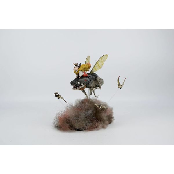 Little Bugs by Zao Dao Statue