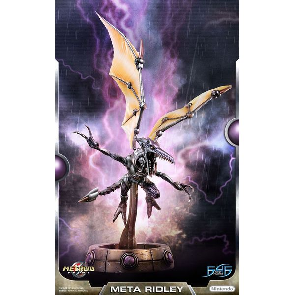 Meta Ridley Statue Metroid Prime