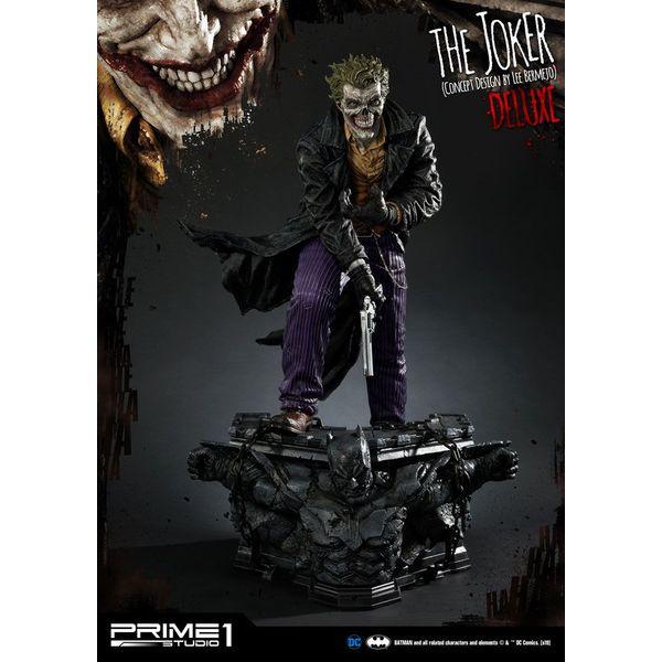 Estatua The Joker by Lee Bermejo Deluxe Version DC Comics