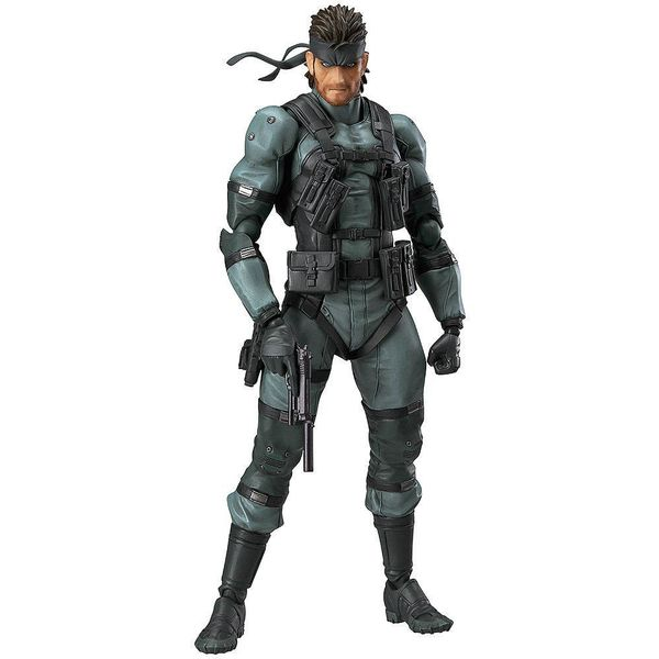 Figma 243 Solid Snake MGS2 ver Metal Gear Solid 2 Sons of Liberty