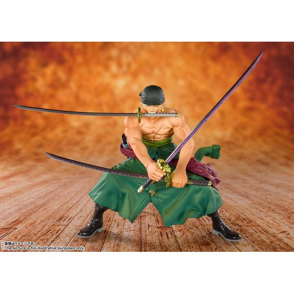 Pirate Hunter Roronoa Zoro Figuarts Zero One Piece