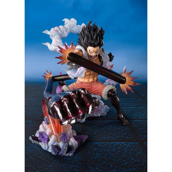 Monkey D Luffy Gear 4 Snakeman King Cobra Figuarts Zero One Piece