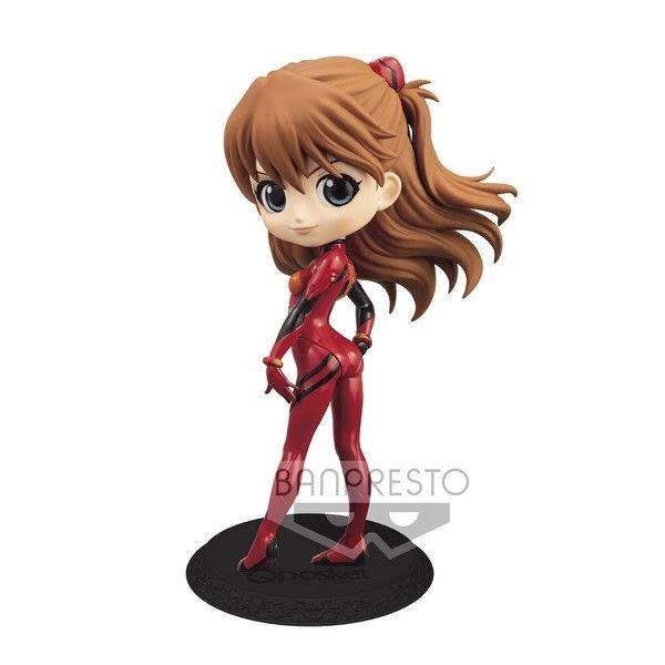 Figura Asuka Shikinami Langley Plugsuit Style Evangelion Rebuild Q Posket