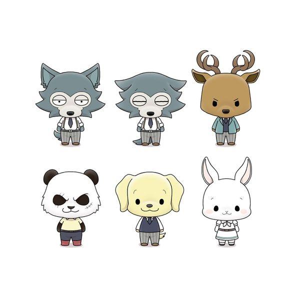 Figura Beastars Chokorin Mascot Series Set