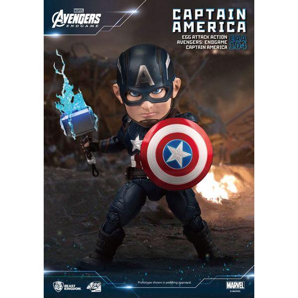 Figura Capitan America Vengadores Endgame Egg Attack