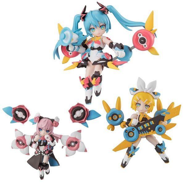 Figura Desktop Army Singer Hatsune Miku Series Set