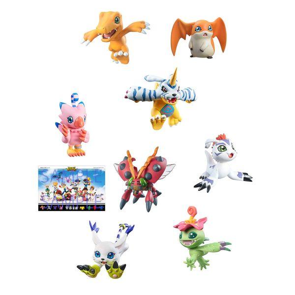 Digimon Adventure Digicolle Mix Data 2 Special Edition Figure Set