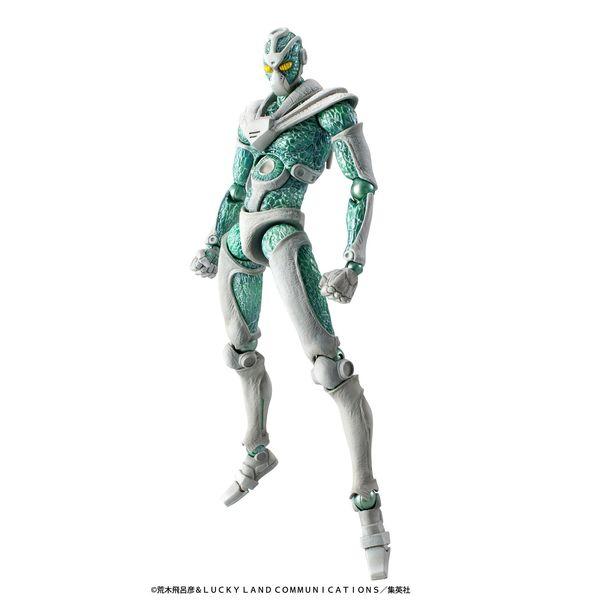 Figura Hierophant Green Jojo's Bizarre Adventure Super Action Chozokado