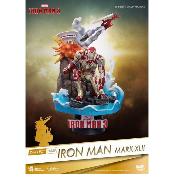 Figura Iron Man Mark XLII Marvel Comics D-Select