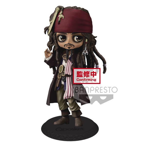Jack Sparrow Figure Disney Characters Q Posket