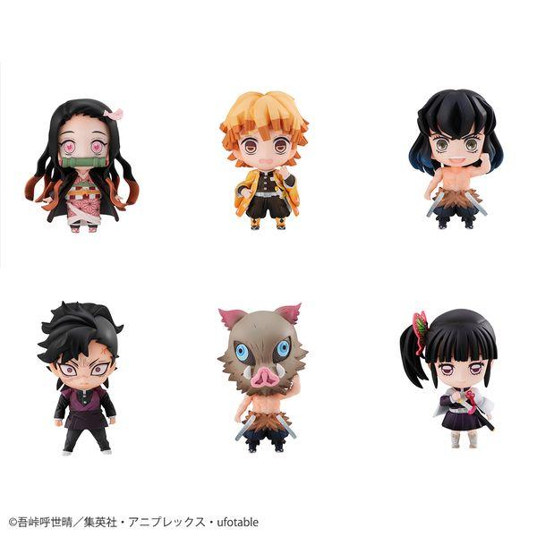 Figura Kimetsu no Yaiba Tanjiro & Friends Mascot Box Set With Bonus