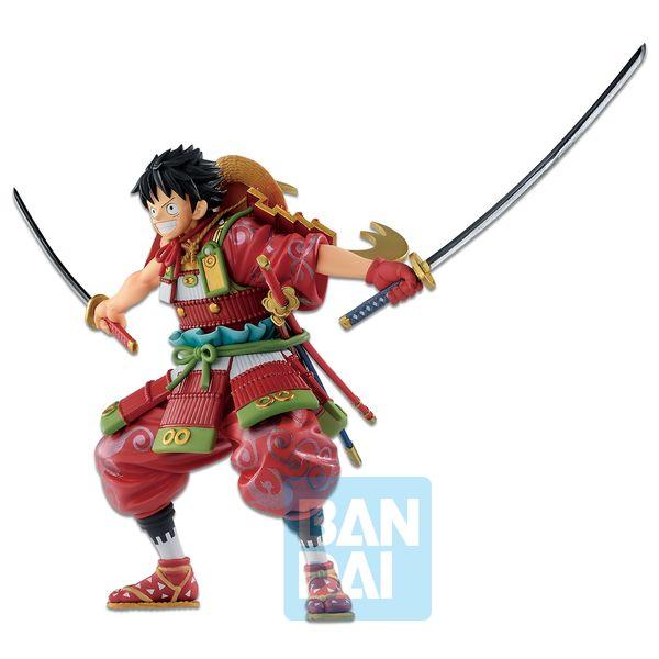 LuffyTaro Armor Warrior Figure One Piece Wano Kuni Second Act Ichibansho