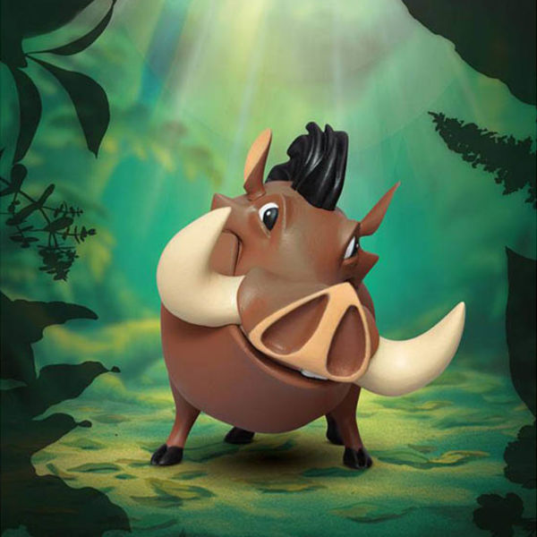 Figura Mini Pumba Egg Attack El Rey Leon Disney Best Friends