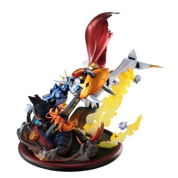 Figura Omegamon vs Diabolomon Digimon Adventure Children's War Game VS Series